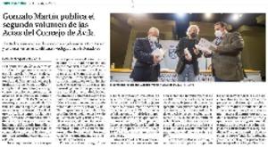 Gonzalo Martín publica el segundo volumen de las Actas del Concejo de Ávila