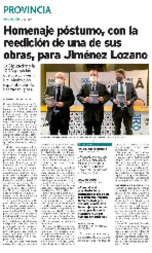 Homenaje póstumo, con la reedición de una de las obras, para Jiménez Lozano