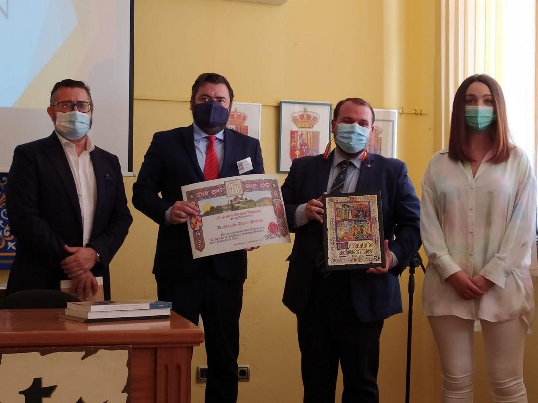 Participación del vicepresidente de la Institución Gran Duque de Alba en las II Jornadas de Heráldica y Vexilología municipal de la provincia de Jaén