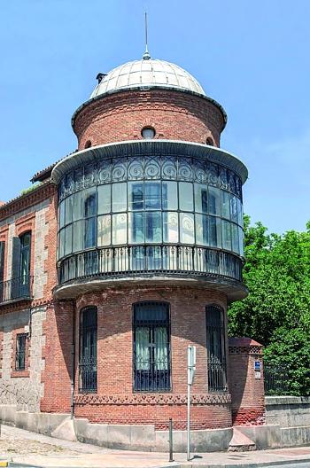 Sede de la institución, Palacete de Nebreda